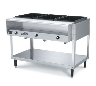 Vollrath 38002 ServeWell 2-Well Hot Food Station