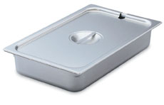 Vollrath 75360 Super Pan V Solid Cover, 1/9 Size