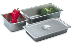 Vollrath 74264 16 Inch Deli Pans and Covers