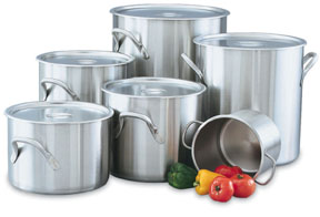 Vollrath 78600 Stainless Steel Stock Pots and Storage Containers