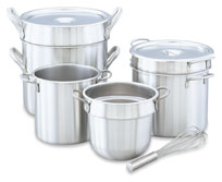 Vollrath 77130 Stainless Steel Double Boiler, 20 Qt.