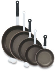Vollrath 67812 Wear-Ever Fry Pans with PowerCoat2� and TriVent Silicone Handle