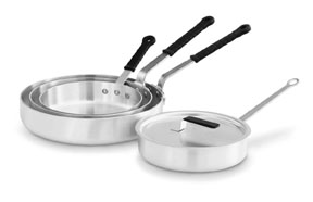 Vollrath 67133 Wear-Ever Aluminum Saute Pan with TriVent Handle