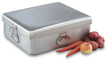 Vollrath 68390 Wear-Ever Aluminum Roaster Pan with Cover- Heavy-Duty