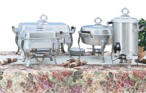 Vollrath 46860 Royal Crest Lift-Off Chafers