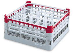 Vollrath 52772 Signature Full-Size Compartment Rack, Short Plus