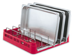 Vollrath 52669 Signature Insulated Tray and Steam Table Pan Rack
