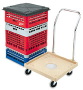 Vollrath 52292 Plastic Rack Dolly