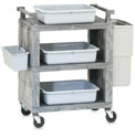 Vollrath 97111 Enclosed Utility Cart