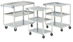 Vollrath 97126 Stainless Steel Utility Carts