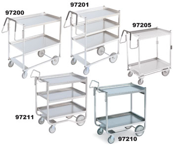 Vollrath 97206 Heavy-Duty Stainless Steel Carts