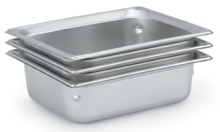 Vollrath 90202 Super Pan 3 Stainless Steel - Steam Table Pan, 3/4""