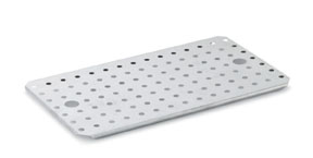 Vollrath 70500 Super Pan 3 False Bottom, 1/2 Size Long