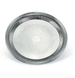 Vollrath 82169 Esquire� Round Fluted Trays