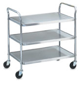 Vollrath 97106 Money Saver KnockedDown (K.D.) Cart