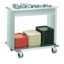 Vollrath 99305 Signature Server Tray and Flatware Cart