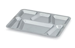 Vollrath 47252 Six-Compartment Tray