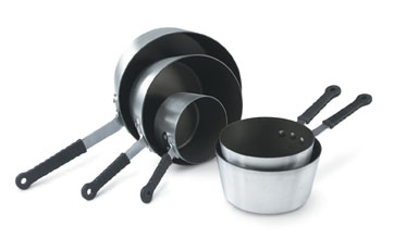 Vollrath 69304 Wear-Ever Tapered Sauce Pans with SteelCoat x3� Non-Stick Interior