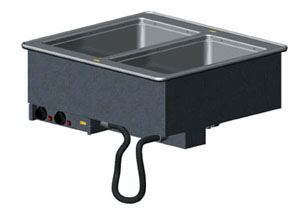 Vollrath 36400 Two Well Hot Modular Drop-Ins