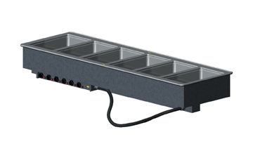 Vollrath 3647660 Six Well Hot Modular Drop-Ins