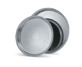 Vollrath 82131 Elegant Reflections� Round Gallery Tray