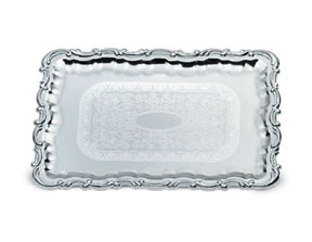 Vollrath 47267 Odyssey Victorian Rectangle Tray