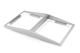 Vollrath 19184 Angled Adaptor Plate - Double