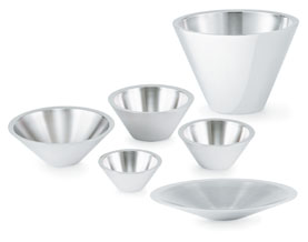 Vollrath 46581 Double-Wall Conical  Platter