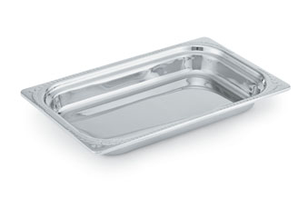 "Vollrath 8230310 Miramar Decorative Pan - Rectangle, Full Size, 1.25"" Deep"