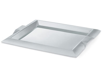 Vollrath 82095 Rectangular Stainless Steel Serving Trays