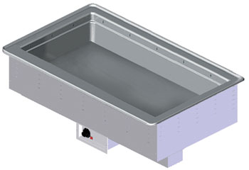 Vollrath 36500 Bain Marie Hot Drop-Ins