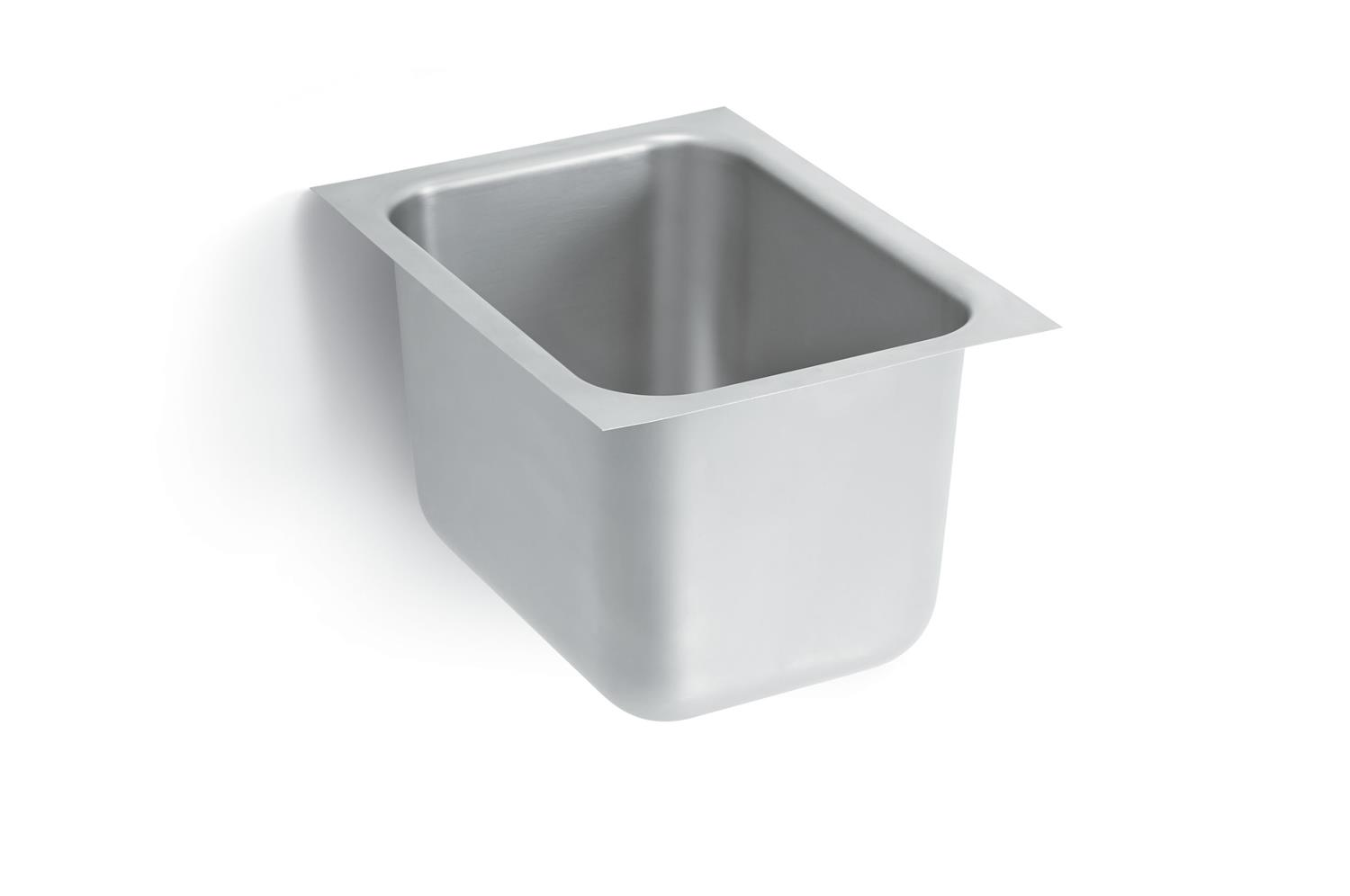 Vollrath 10101-0 Heavy Weight Single Bowl Sink, No drain