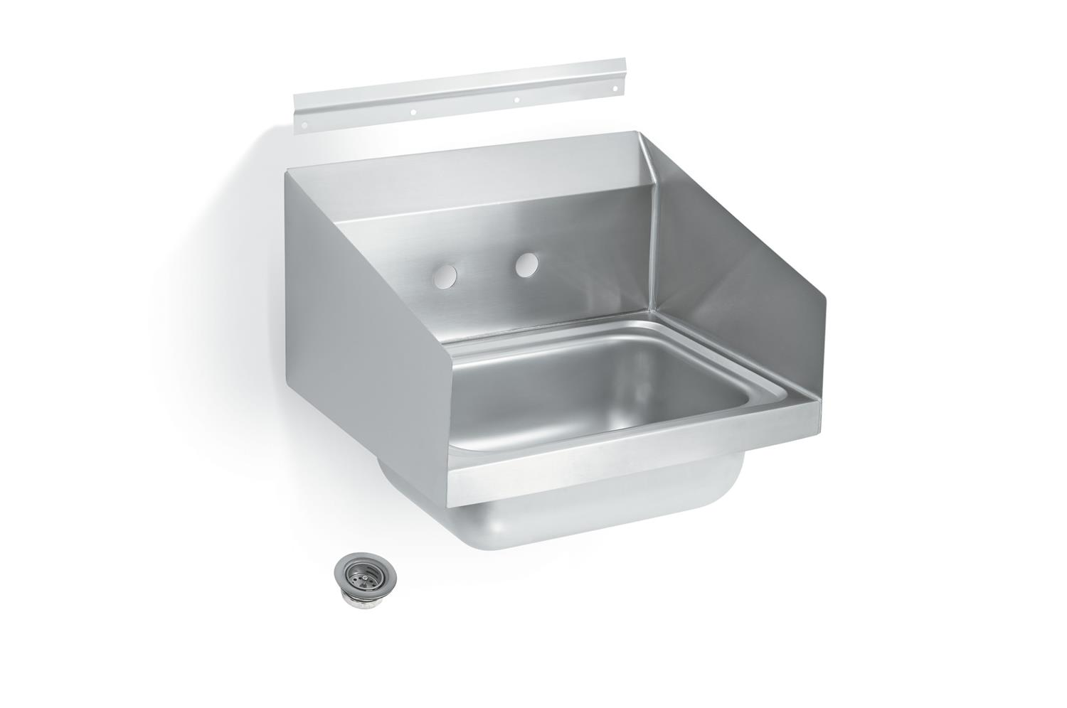Vollrath 1410CS Sink with splash guards and strainer