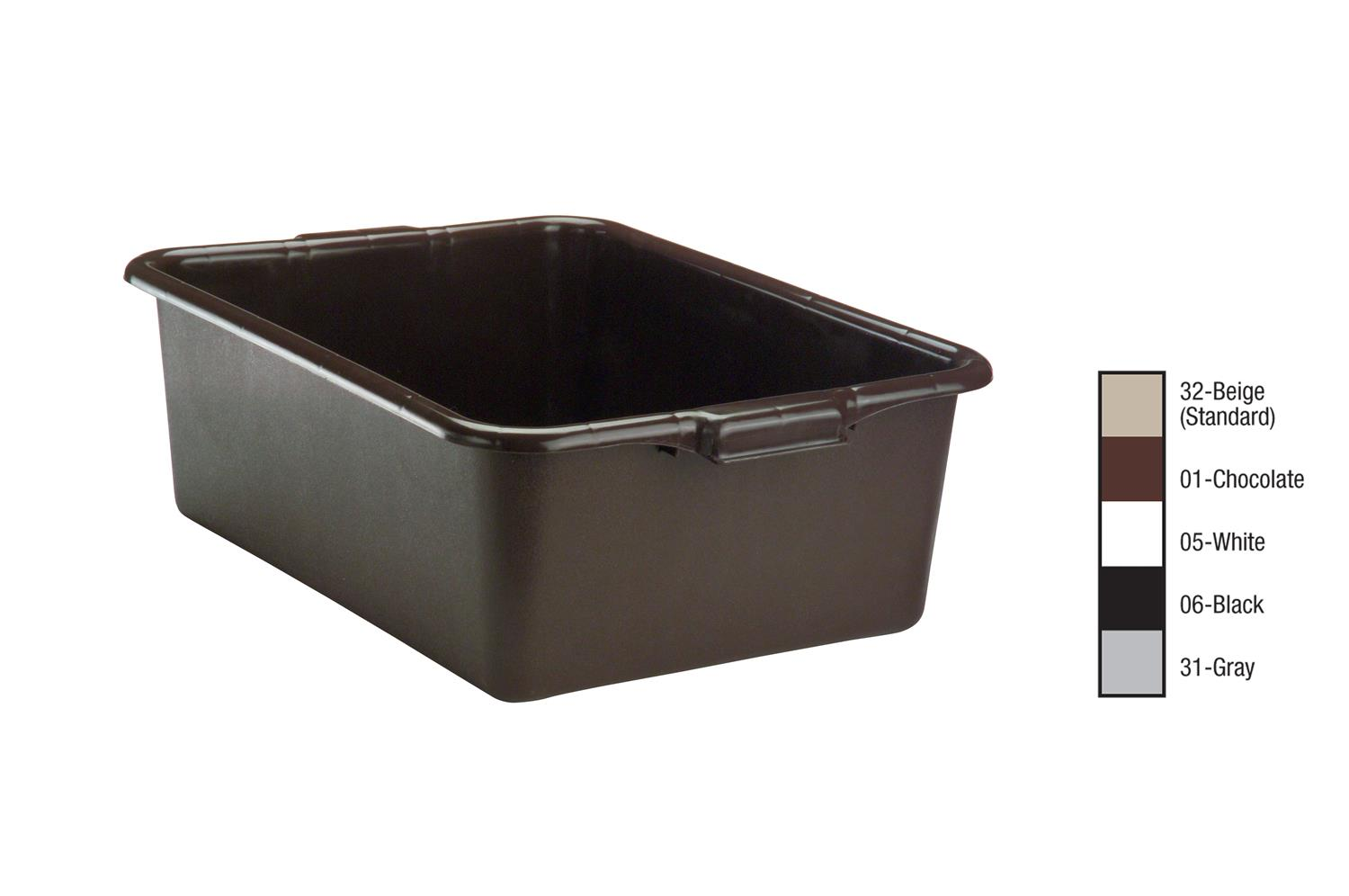 Vollrath 1527-01 Bus Box - Brown