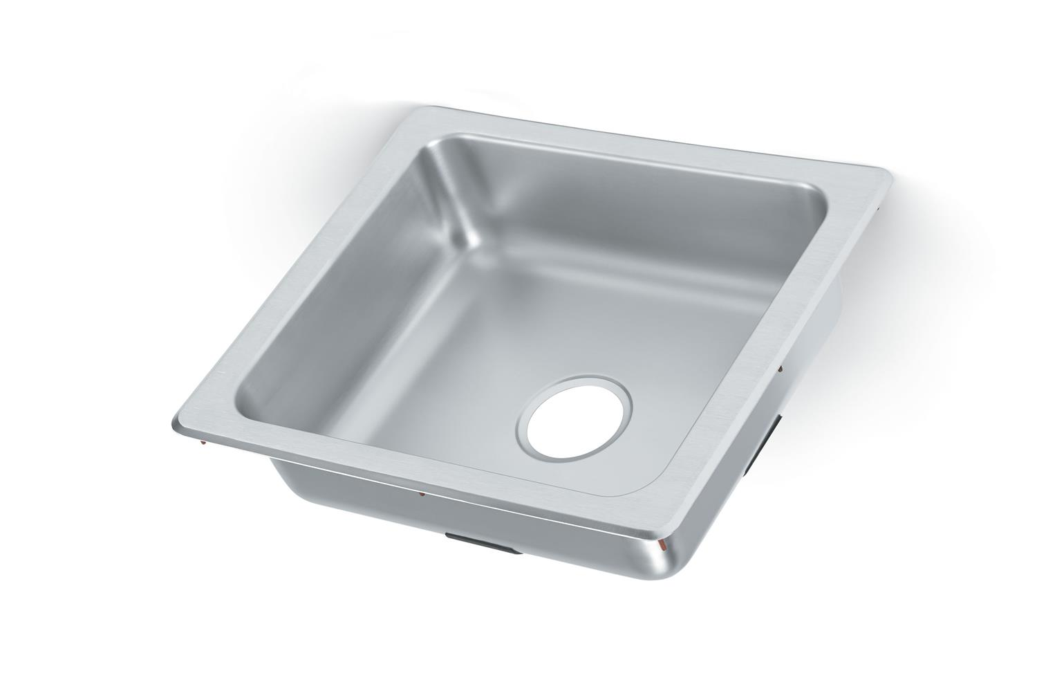 Vollrath 229-1 Self-Rimming Single bowl sink