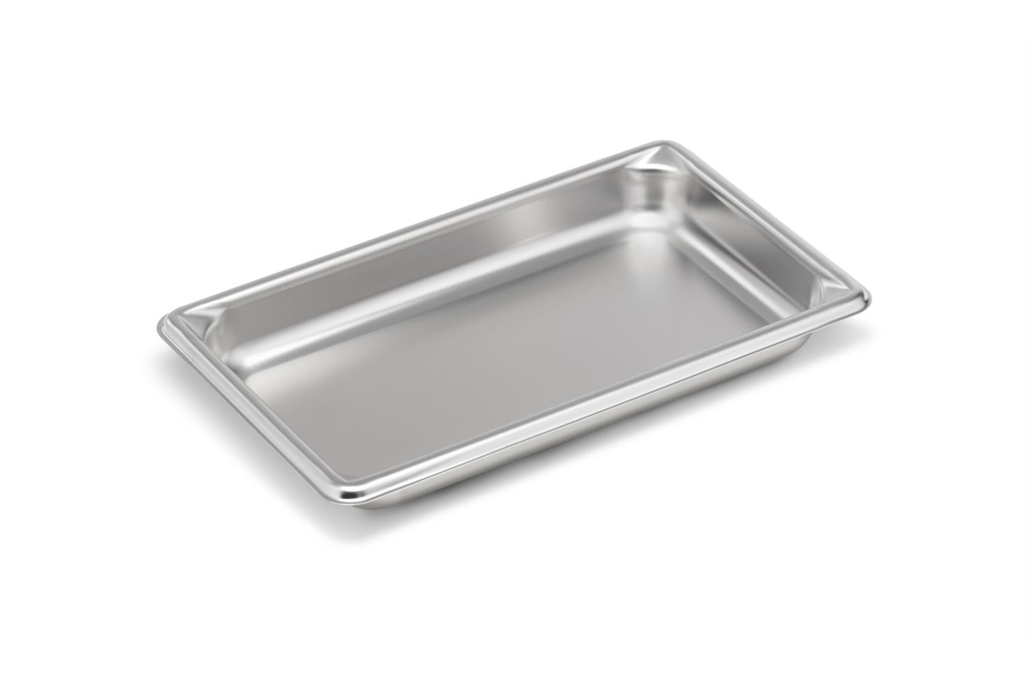 Vollrath 30412 Super Pan V 1/4 Size Stainless Steel Steam Table Pan
