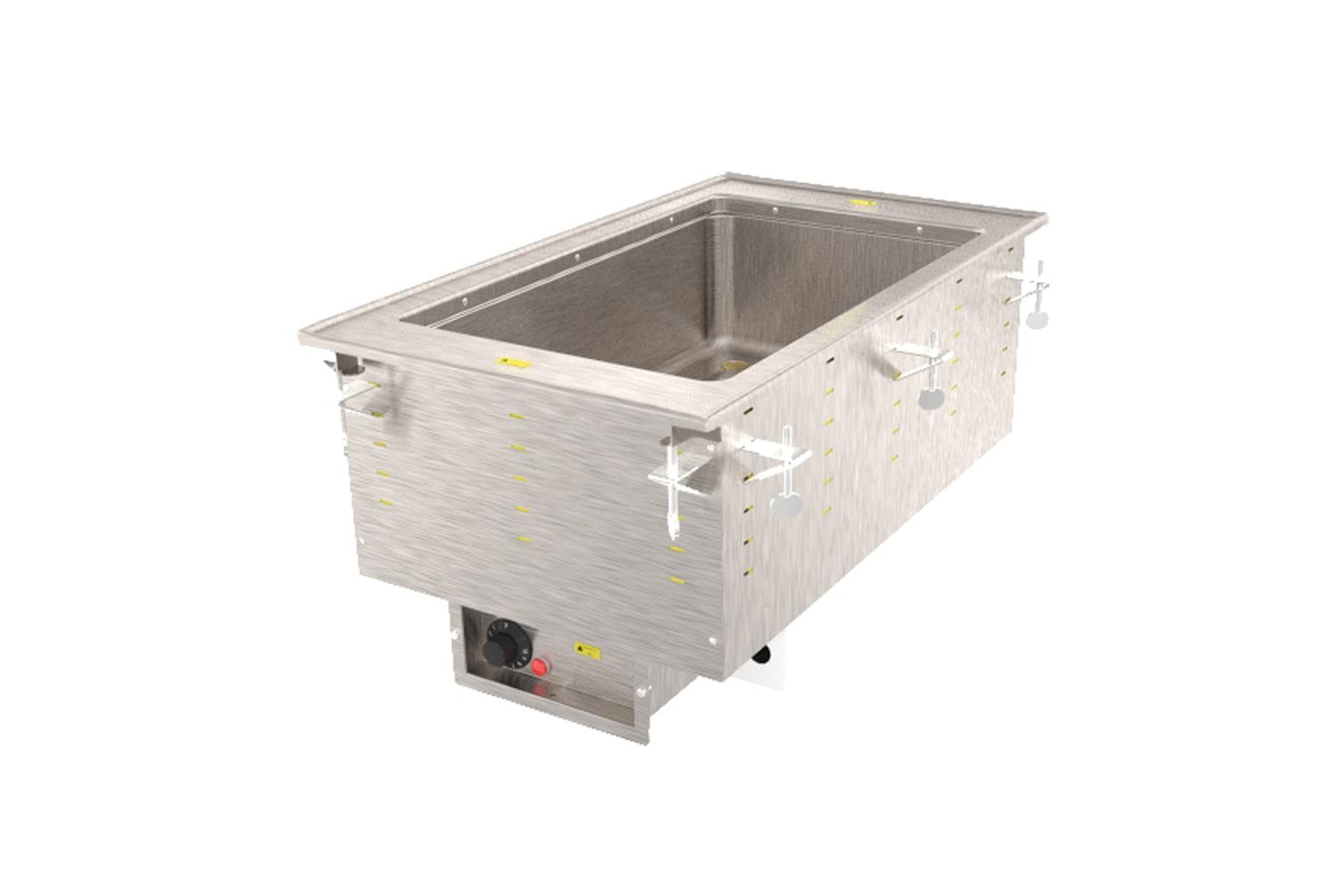 Vollrath 3646681HD One-Well Hot  Modular Drop-In With Marine Grade Well