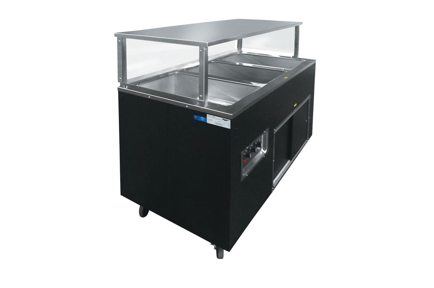 Vollrath 39727W Affordable Portable Hot Food Station