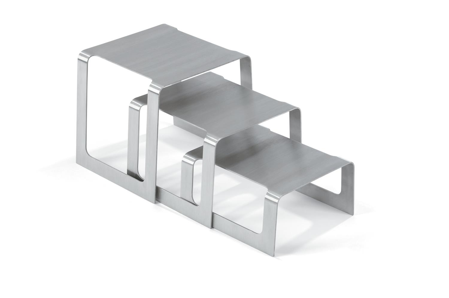 Vollrath 46009 Square Bent Buffet Riser Sets