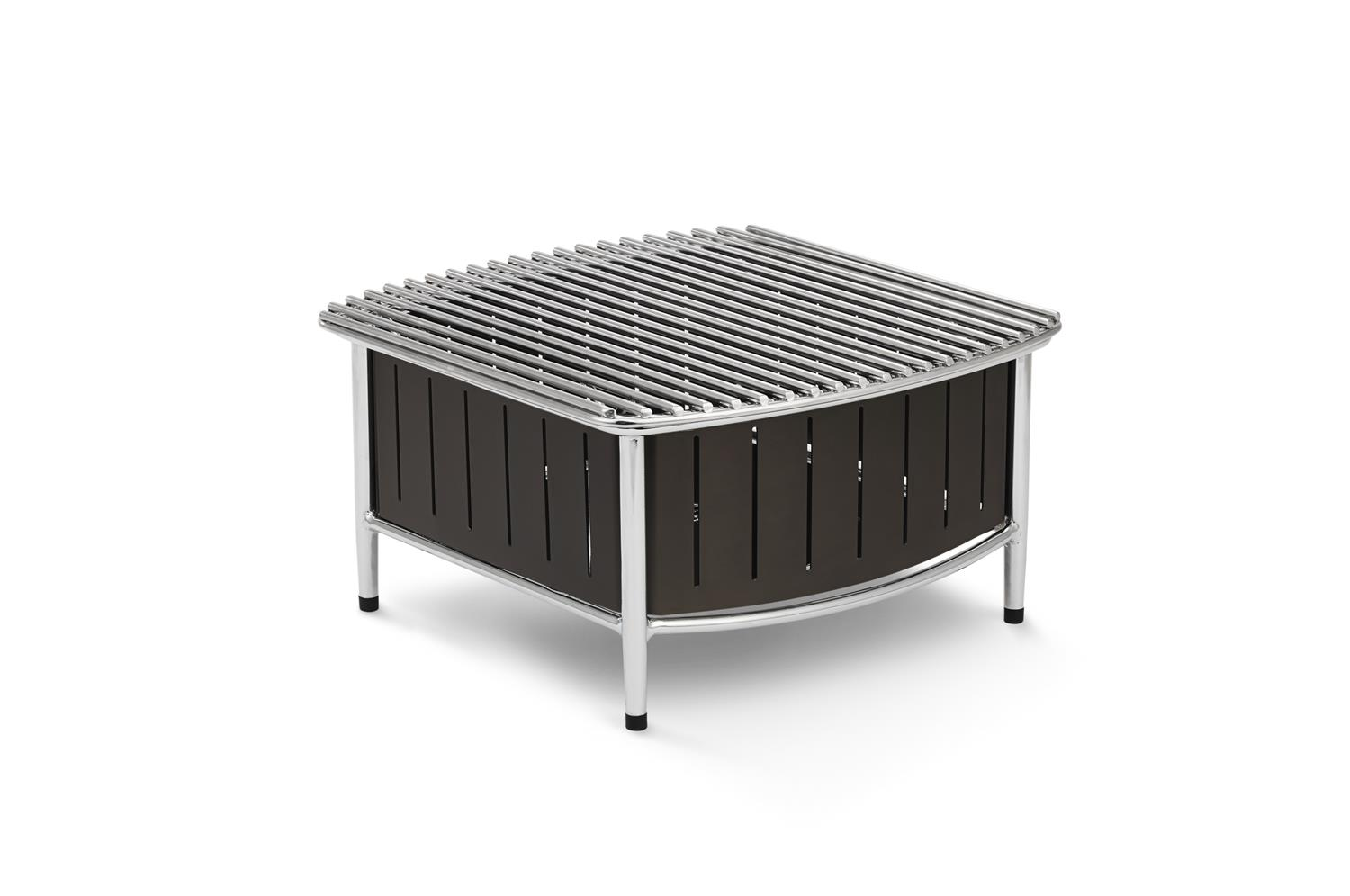 Vollrath 4667475 Small Buffet Station with Wire Grill, Black
