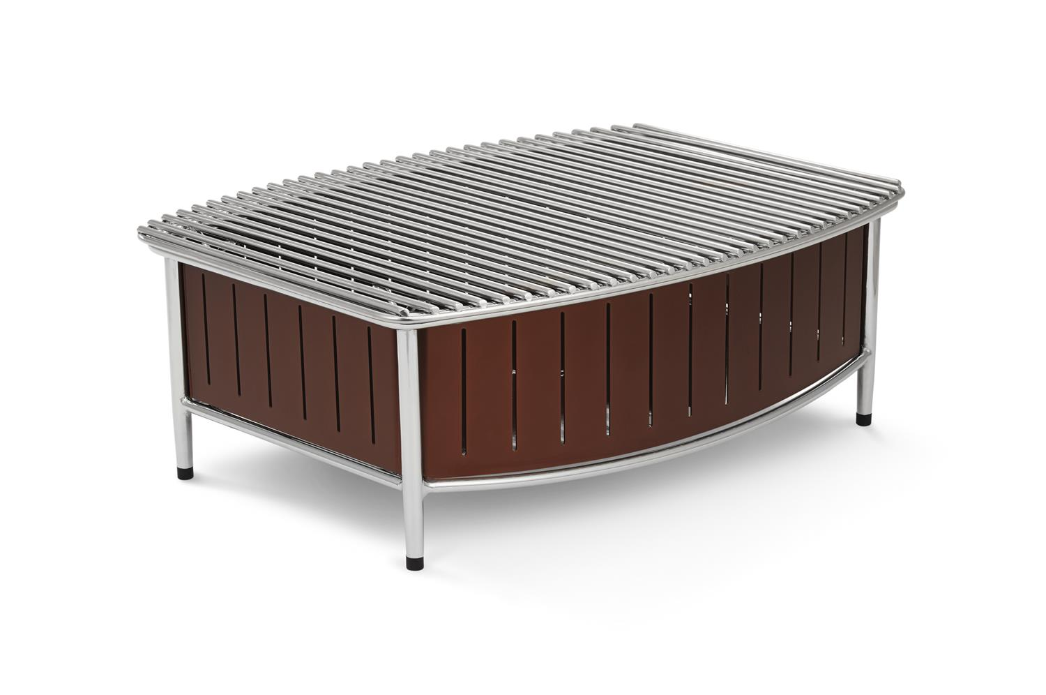 Vollrath 4667570 Large Buffet Station with Wire Grill, Brown