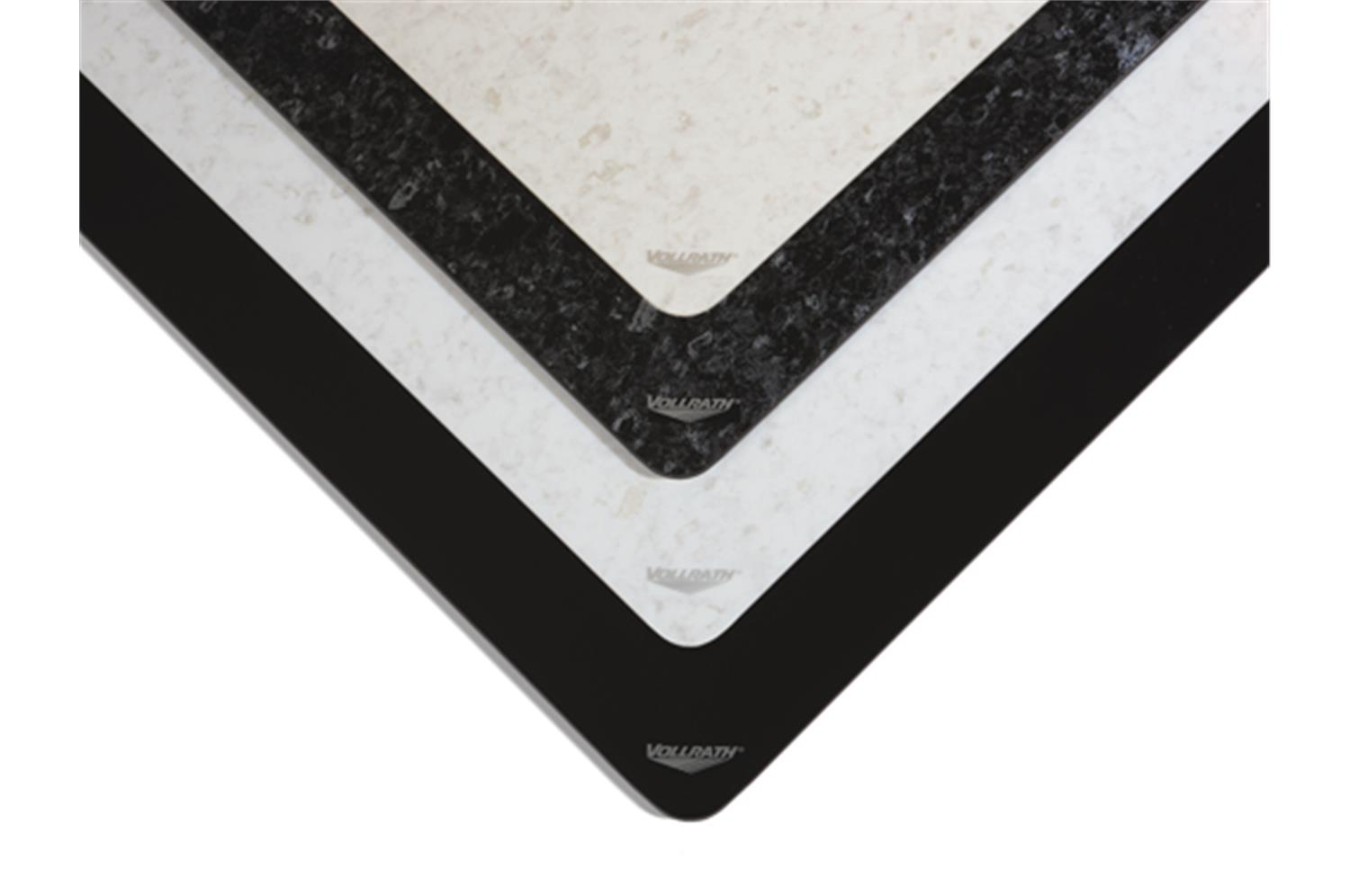 Vollrath 5960835 Bisque Granite Ceramic Template with 5950145 Induction Warmer