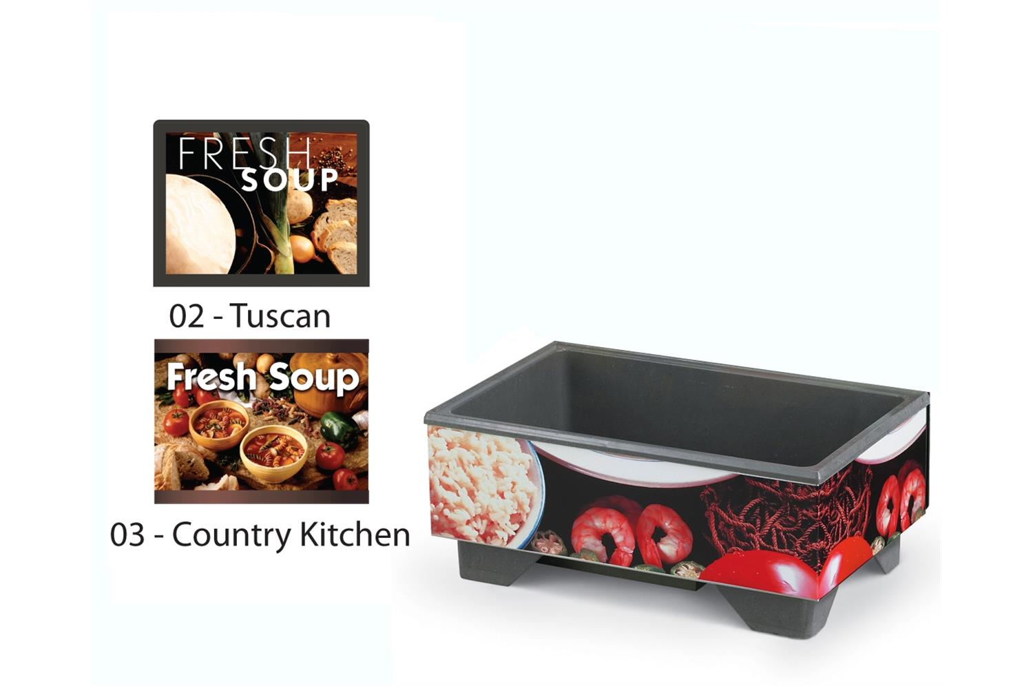 Vollrath 720200003 Full-Size Soup Merchandisers - Country Kitchen