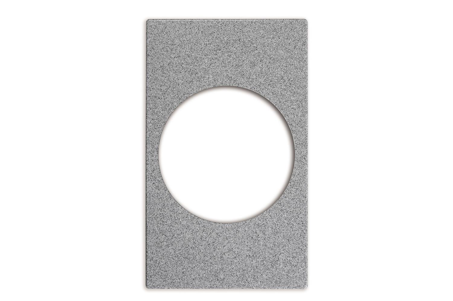 Vollrath 8243524 Miramar Single Size Template, Gray Granite