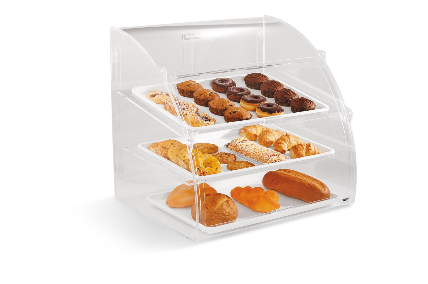 Vollrath EMBC-1 Euro bakery case - medium, rear door