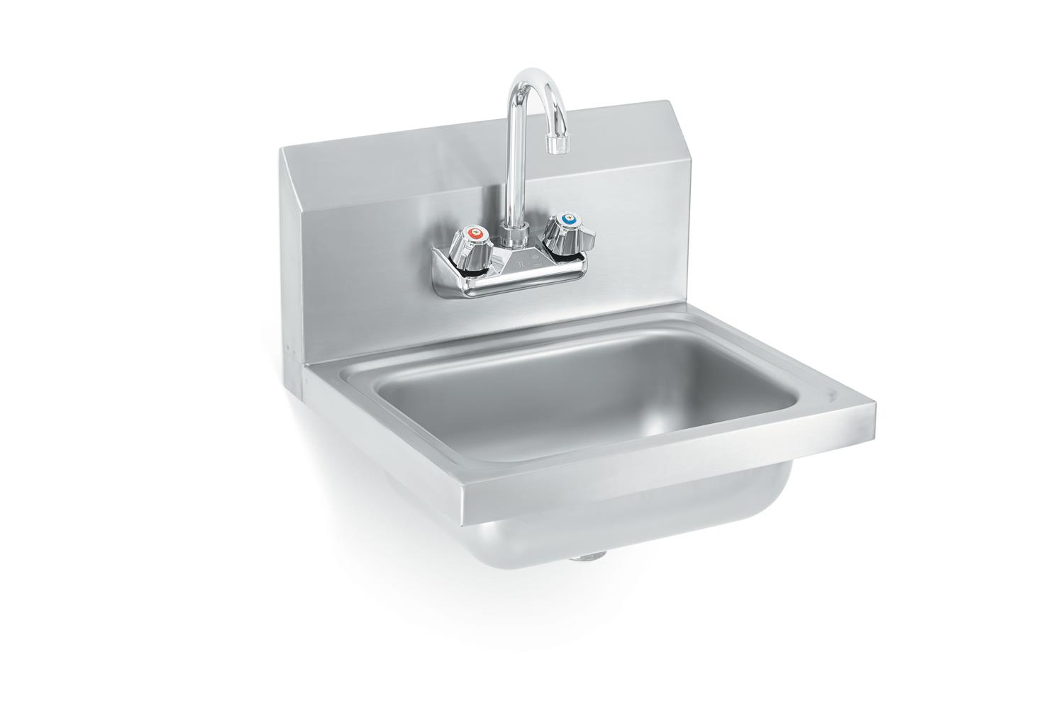 Vollrath K1410-C Sink with strainer and gooseneck faucet
