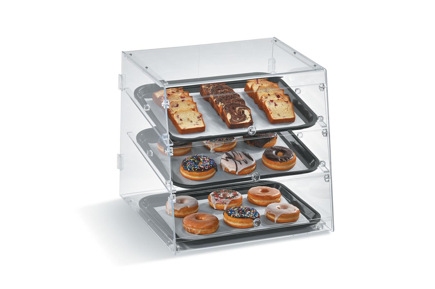 Vollrath KDC1418-4R-06 Knock down bakery case 4 tray