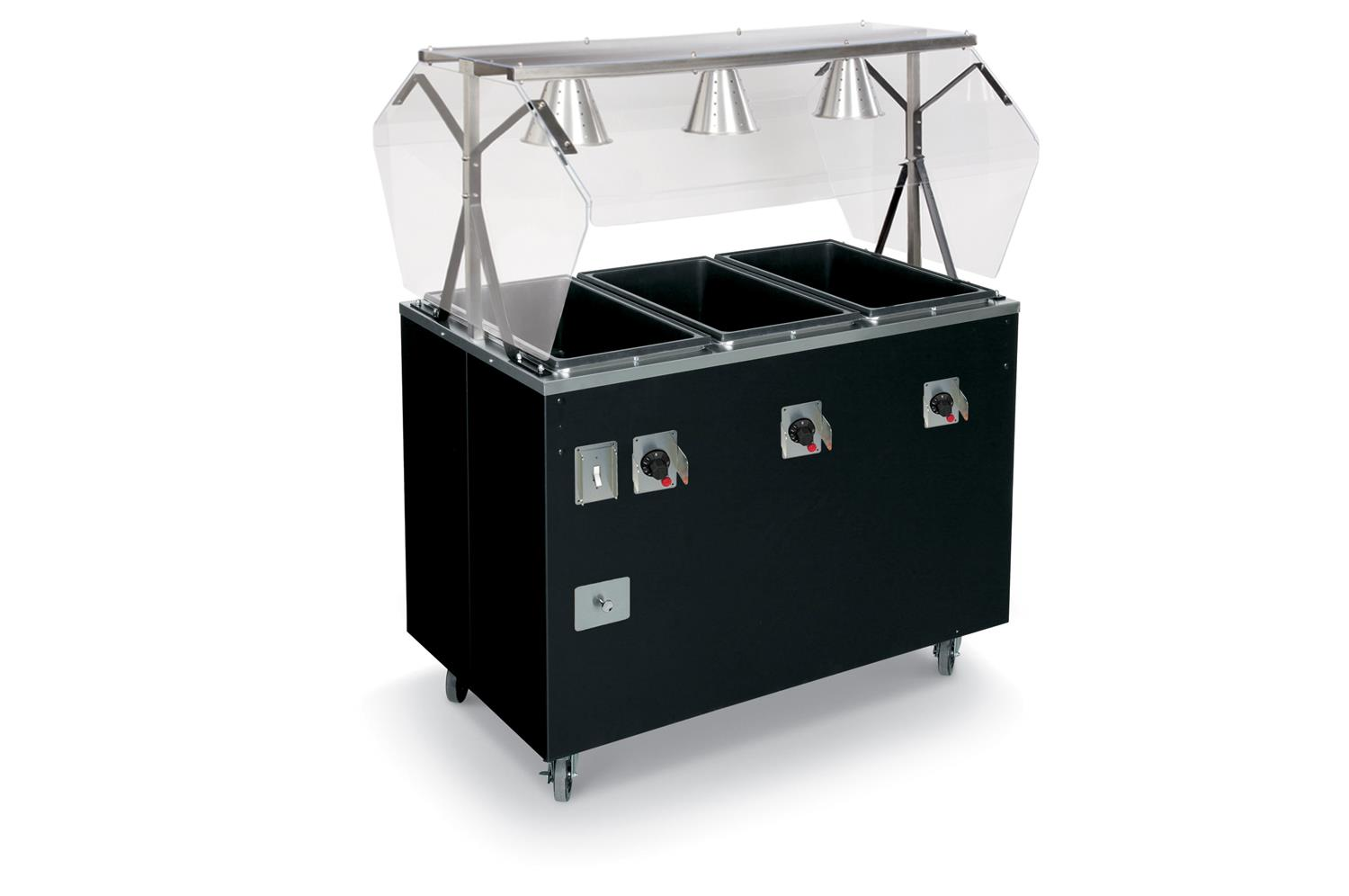 Vollrath T3872846A Affordable Portable� Hot Food Station Deluxe