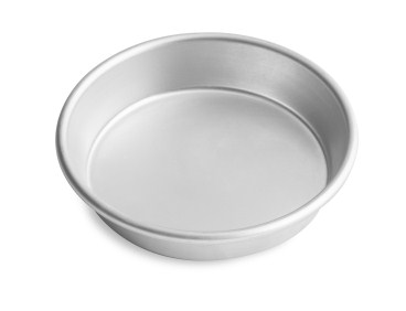 "16"" Solid Tapered Deep Dish Pizza Pan with Natural Finish Vollrath 6716N 