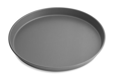 "16"" Solid Tapered Deep Dish Pizza Pan with Hard Coat Anodized Finish Vollrath 6716HC 